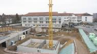 Investieren für den Ausgleich: In Mainz wird eine Zahnklinik gebaut.