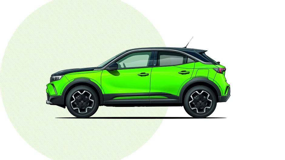 Knallt von außen, surrt leise von innen: Opel Mokka-e