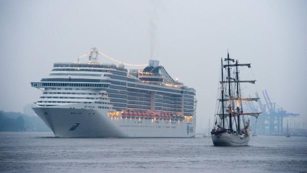 Kreuzfahrtschiff unter Quarantäne