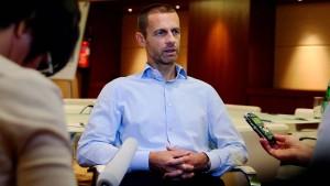 Wieso plötzlich ein Slowene neuer Uefa-Chef werden soll
