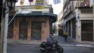 Weniger Notkredite für Griechenlands Banken