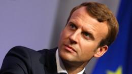 Macron will in Frankfurt für mehr Europa werben