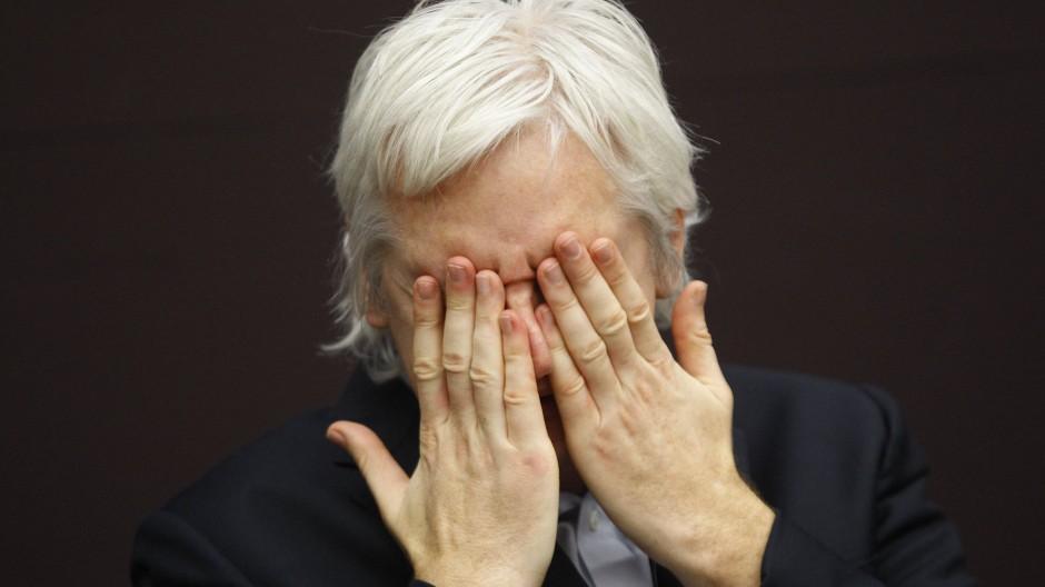 Julian Assange im Jahr 2011