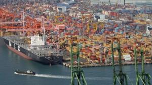 Hafen in Südkorea