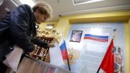 Russische Wahlkommission gesteht Unregelmäßigkeiten ein