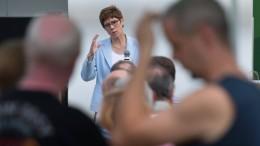 AKK begrüßt Idee einer Sonderwirtschaftszone in der Lausitz