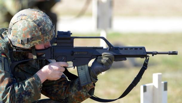 Zwei Bundeswehr-Soldaten bei versehentlichem Schuss im Irak verletzt