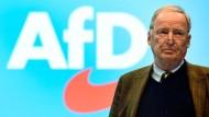 """""""Diesem Erbe sieht sich die AfD verpflichtet."""", sagt der AfD-Parteivorsitzende Alexander Gauland dieser Zeitung."""