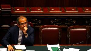 Italien will wieder mehr Schulden machen