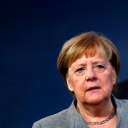 Kanzlerin Angela Merkel (CDU) am Freitag in Brüssel