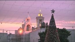 Weihnachts-Touristen strömen nach Bethlehem
