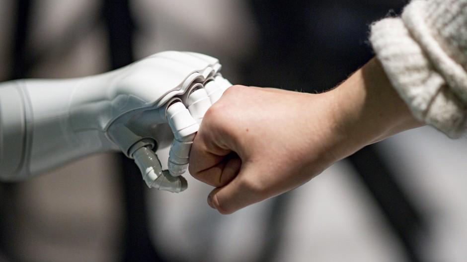 Mensch-Maschine-Kollaboration - auch das ist eine Ausprägung von KI.