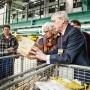 Auch Alte können es: DGB-Chef Michael Sommer in Frankfurt