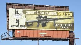 Waffentouristen strömen weiter nach Las Vegas
