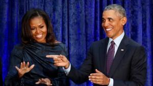 Die Obamas produzieren jetzt Podcasts für Spotify