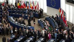 EU-Abgeordnete stimmen über von der Leyen ab