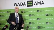 Craig Reedie: Der Brite wurde gerade als Präsident der Wada bestätigt.