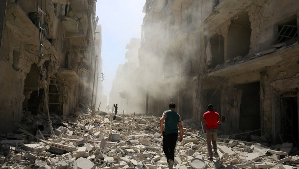 """""""Was wir in Syrien erleben, ist Barbarei"""""""