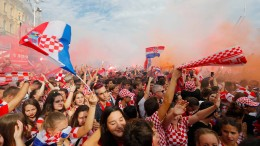 "Kroatien feiert die ""Gewinner der Herzen"""