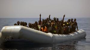 Deutlich mehr Flüchtlinge auf der Mittelmeerroute