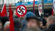 Demonstration gegen Rechtsextremismus in Dresden