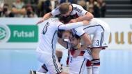 DFB-Team beim ersten Mal nicht nervös
