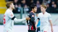 Nicht in Europa-League-Form: Frankfurts Daichi Kamada