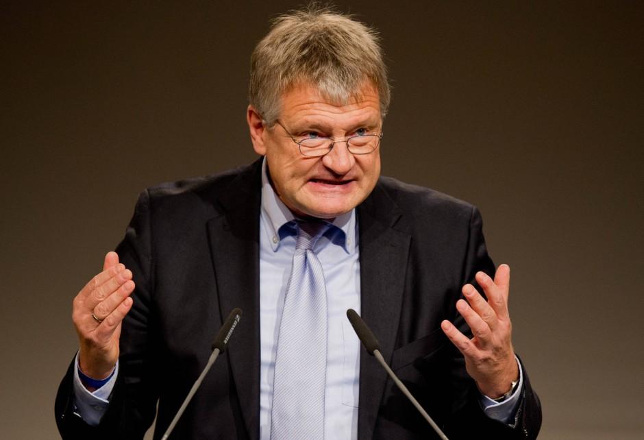 """""""Wie weit ist es in diesem Land gekommen?"""": der Parteivorsitzende Jörg Meuthen"""