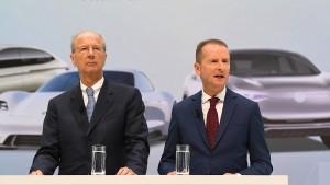 VW stellt sich hinter Vorstandschef Diess