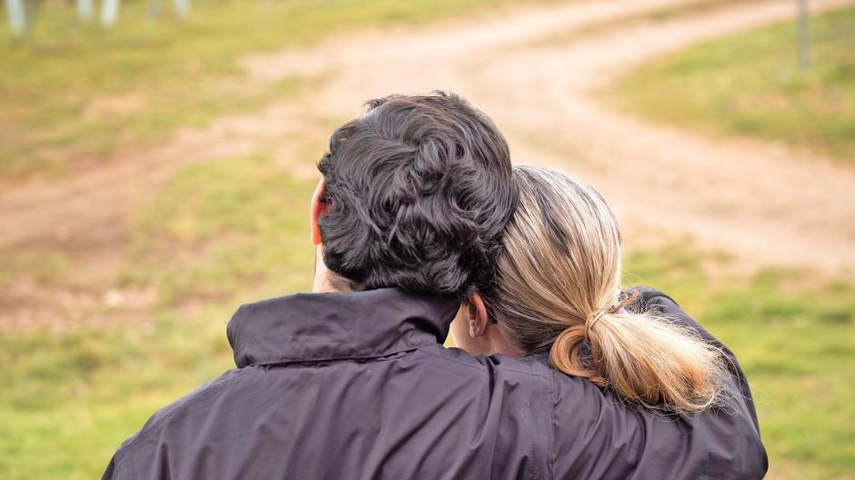 Halten zusammen, auch wenn sie dafür auf Distanz zu ihren christlichen Eltern gehen mussten: Katharina Mergelt und ihr syrischer Ehemann.