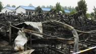Zahlreiche Tote bei Feuer in Altenheim