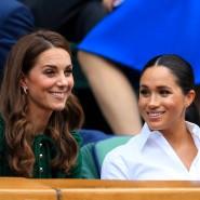 Herzoginnen Meghan und Kate bei einem gemeinsamen Wimbledon-Besuch. Schmieden sie heimliche Pläne für den Familienfrieden?