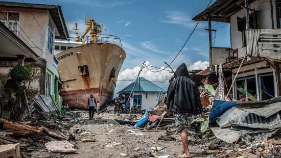 Sauberes Wasser für Opfer von Tsunami