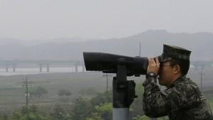 Nordkoreanischer Offizier in den Süden übergelaufen
