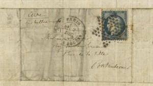 145 Jahre alter Brief aus belagertem Paris in Australien aufgetaucht