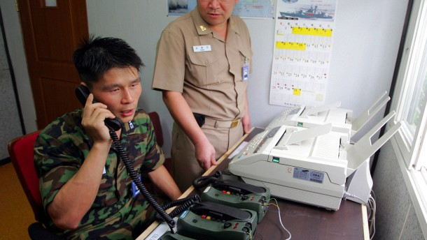 Kommunikationsabbruch zwischen Nord- und Südkorea