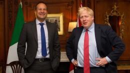 Johnson und Varadkar sehen möglichen Weg zum Brexit-Deal