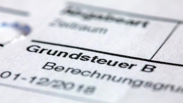 Finanzbeamte dürfen über Grundsteuer nicht mitreden