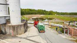 Der letzte Uran-Laster fährt vom Hof