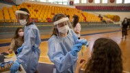 Coronavirus-Test in Israel