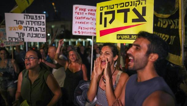 Neue Corona-Beschränkungen in Israel