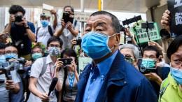 Hongkonger Medienmogul festgenommen