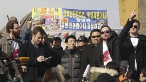 """Wie ich """"Interview""""-Filmplakate nach Nordkorea schickte"""