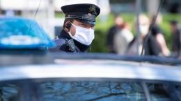 Mögliche Falle – Polizisten bei Streit um Masken verletzt