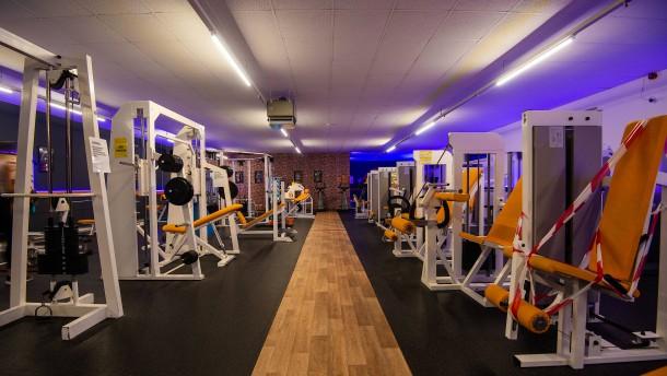 Vollständige Schließung von Fitnessstudios gekippt