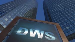 Deutsche Bank erhält weniger Geld für DWS