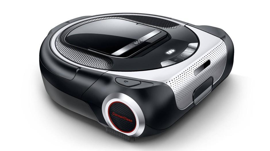 Der Staubsaugrobotter Bosch Roxxter: der smarte Staubschlucker kann von überall in der Welt gesteuert werden.