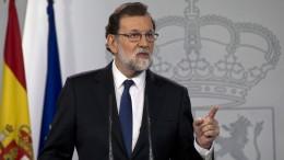 Madrid will Regierungsgewalt in Katalonien übernehmen
