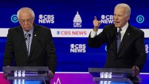 Präsidentschaftsbewerber Bernie Sanders bei TV-Debatte unter Beschuss