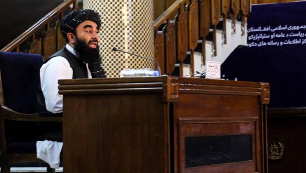 USA besorgt über Übergangsregierung der Taliban